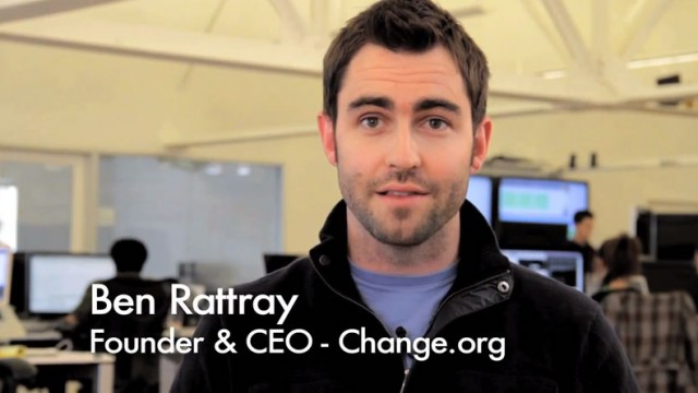 Ben Rattray, Change.org's CEO and Founder | The Pivot