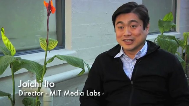 "Joi Ito, MIT's Media Lab Director, Education vs. ""Lifelong Kindergarten"""