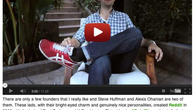 TechCrunch Features ATD's Reddit Video | Alexis Ohanian and Steve Huffman