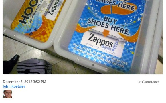 Zappos Video Featured on VentureBeat | A Total Disruption
