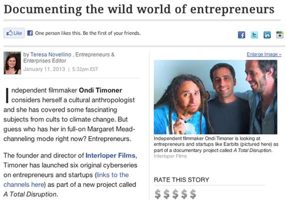 Upstart Business Journal Features ATD