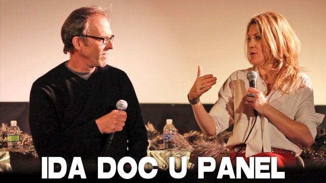 Kirby Dick, Ondi Timoner & David Weissman discuss doc filmmaking (IDA Panel)