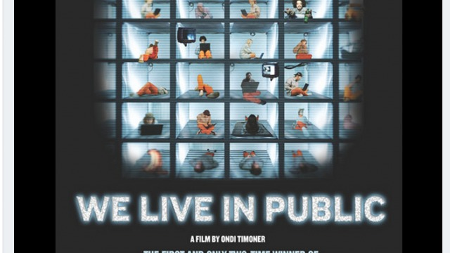 WE LIVE IN PUBLIC Named Must See Doc for Entrepreneurs by Entrepreneur.com